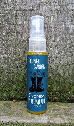 Cypress and Vanilla Perfume Oil - Organic Aromatherapy Perfume