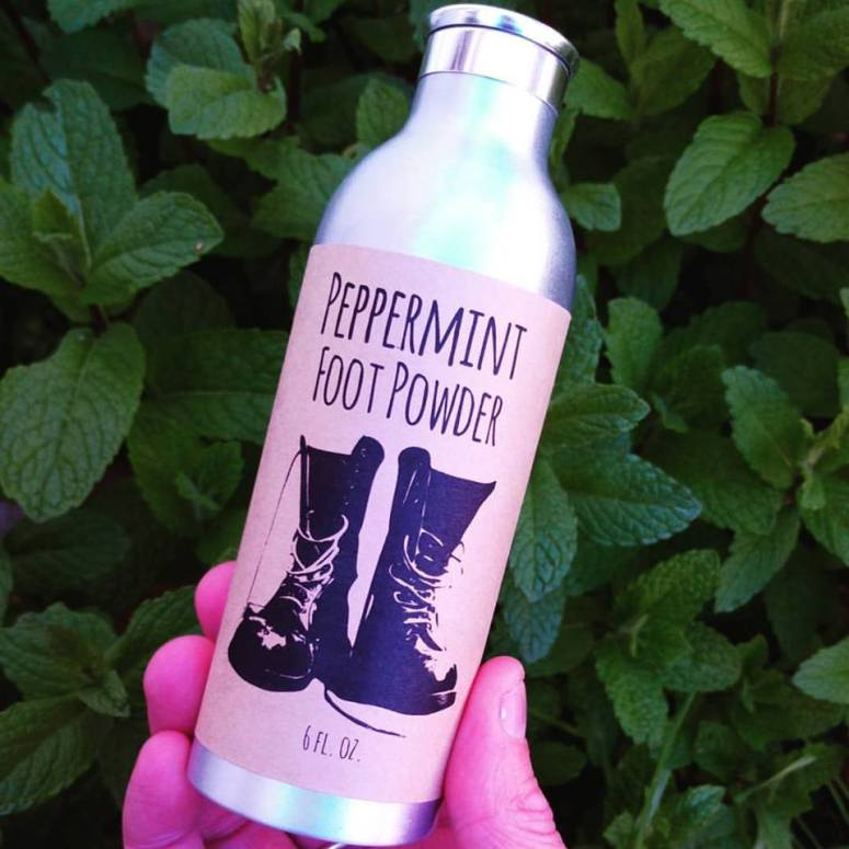 peppermint foot